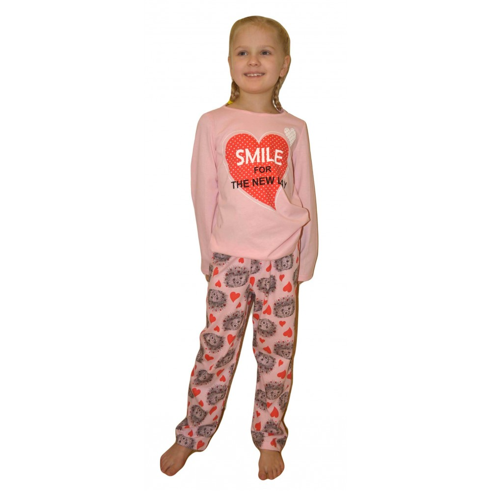 eb9a71e127f95 Купить ПЖ-1809/Пижама подростковая для девочки