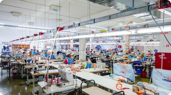 Ульяновская фабрика, швейный цех
